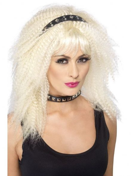 1980's Studded Punk Headband
